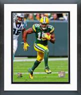Green Bay Packers Randall Cobb 2014 Action Framed Photo