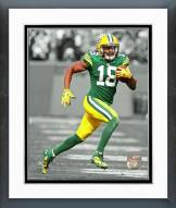 Green Bay Packers Randall Cobb 2014 Spotlight Action Framed Photo