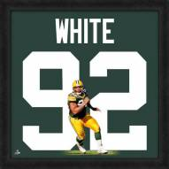 Green Bay Packers Reggie White Uniframe Framed Jersey Photo