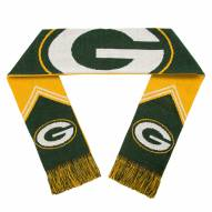 Green Bay Packers Reversible Stripe Scarf
