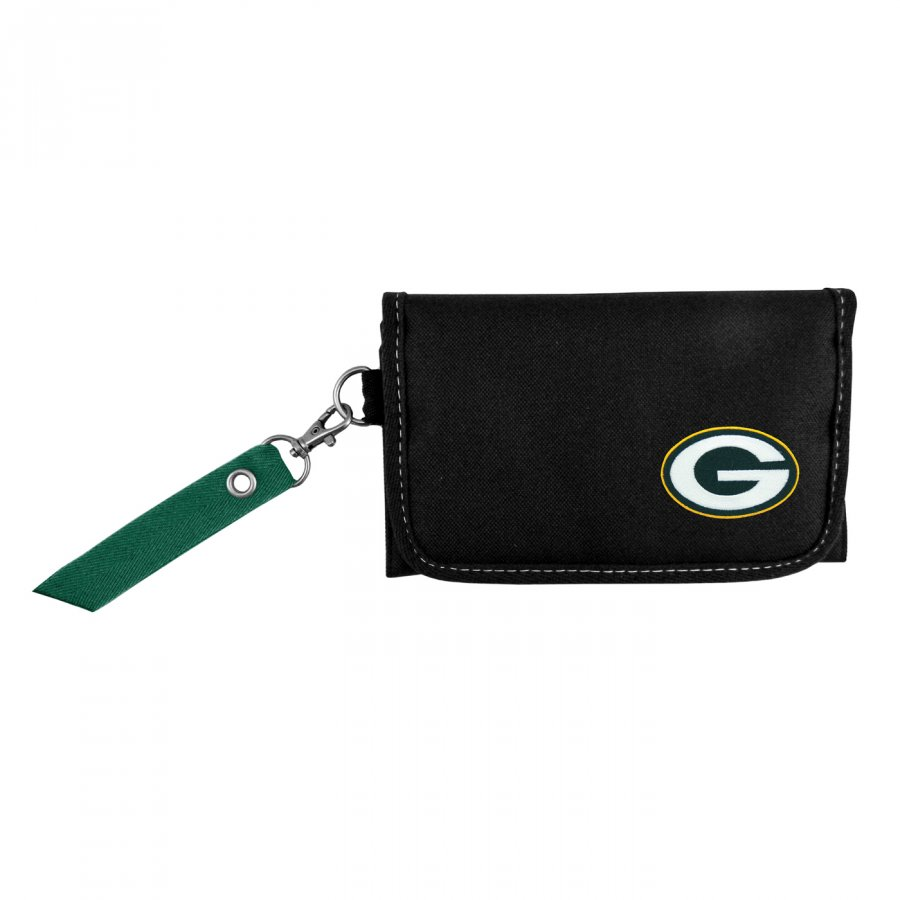 Green Bay Packers Ribbon Organizer Wallet