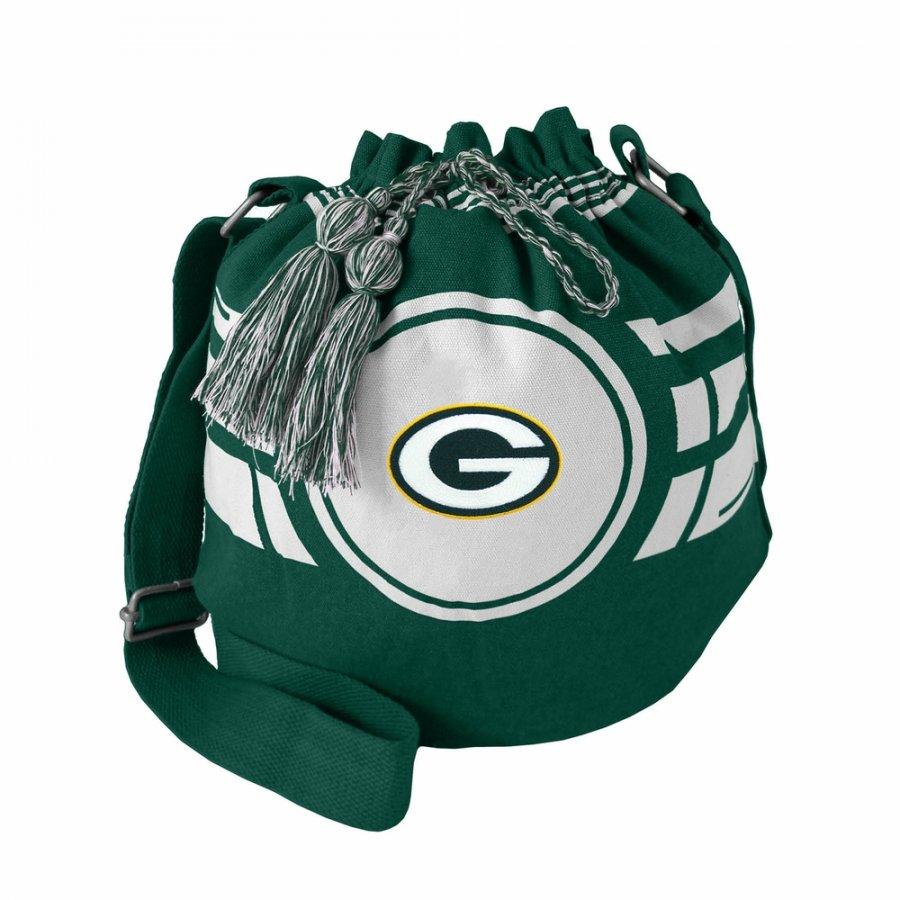 Green Bay Packers Ripple Drawstring Bucket Bag