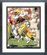 Green Bay Packers Robert Brooks Action Framed Photo