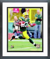 Green Bay Packers Sam Shields 2011 Action Framed Photo