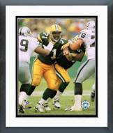 Green Bay Packers Santana Dotson Action Framed Photo