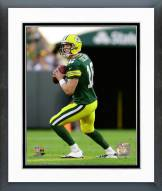 Green Bay Packers Scott Tolzien 2014 Action Framed Photo