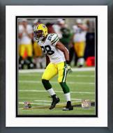 Green Bay Packers Sean Richardson 2014 Action Framed Photo