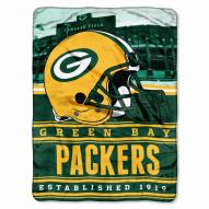 Green Bay Packers Silk Touch Stacked Blanket