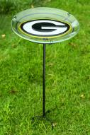 Green Bay Packers Staked Bird Bath