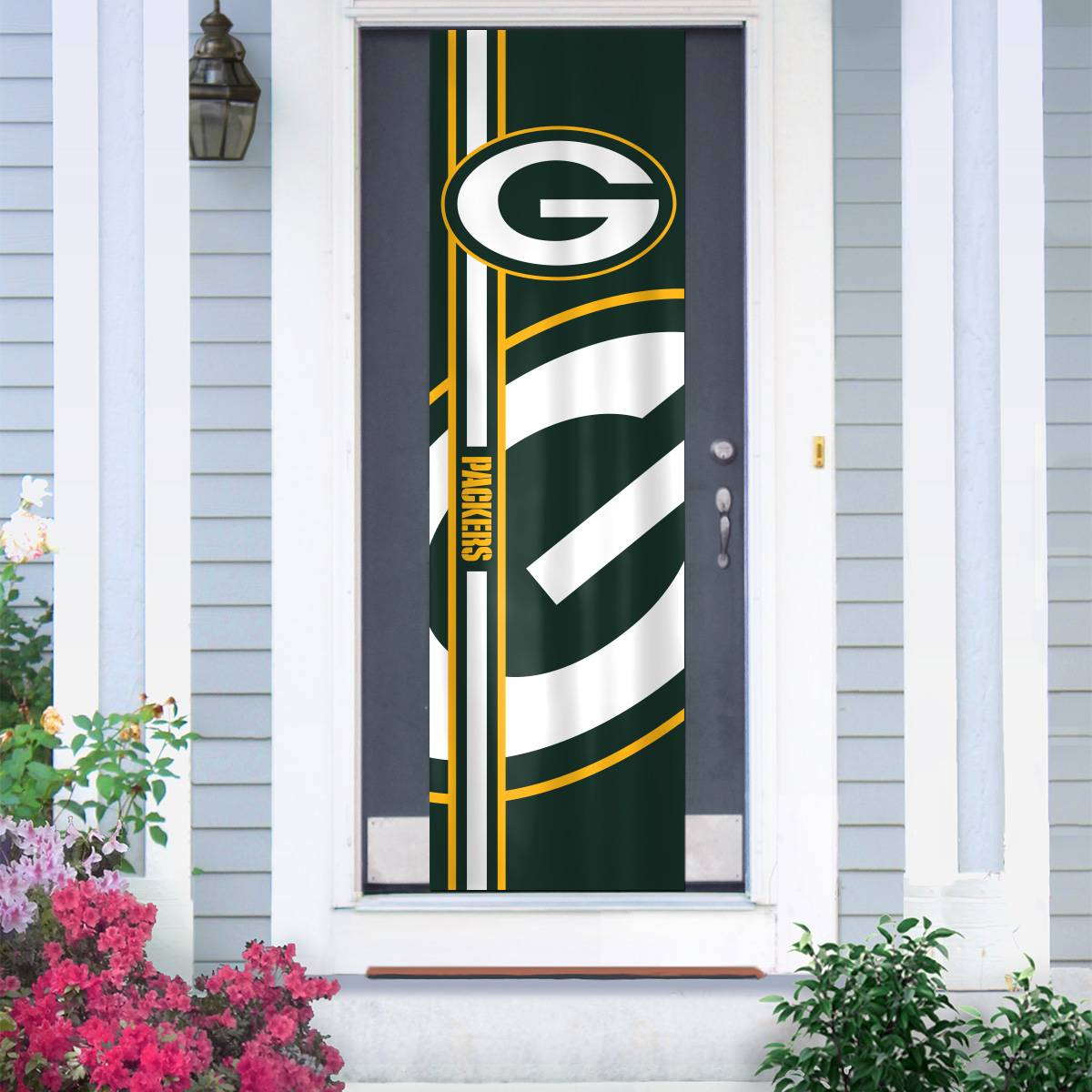 Green bay packers door banner for Door 84 youth centre york