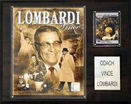 "Green Bay Packers Vince Lombardi 12 x 15"" Player Plaque"