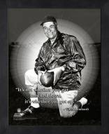 Green Bay Packers Vince Lombardi NFL Framed Pro Quote