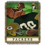 Green Bay Packers Vintage Throw Blanket