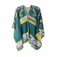 Green Bay Packers Whipstitch Poncho