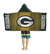 Green Bay Packers Youth Hooded Towel