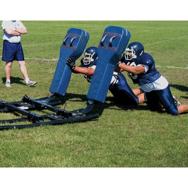 Hadar Athletic One Man Middle School Football Blocking Sled with ...