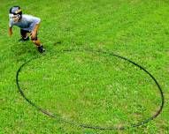 Hadar Athletic 12' Football Agility Ring