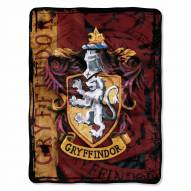 Harry Potter Battle Flag Micro Raschel Throw Blanket