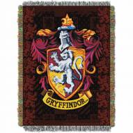 Harry Potter Gryffindor Shield Throw Blanket