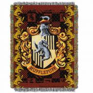 Harry Potter Hufflepuff Crest Throw Blanket