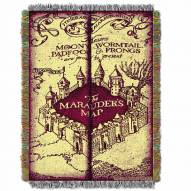 Harry Potter Marauder's Map Throw Blanket