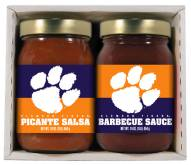 Hot Sauce Harry's Clemson Tigers BBQ/Salsa Set