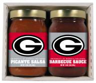 Hot Sauce Harry's Georgia Bulldogs BBQ/Salsa Set