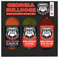 Hot Sauce Harry's Georgia Bulldogs Grilling Sauce Set
