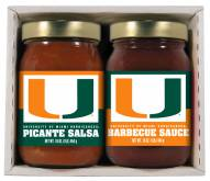 Hot Sauce Harry's Miami Hurricanes BBQ/Salsa Set