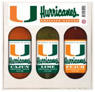 Hot Sauce Harry's Miami Hurricanes Grilling Sauce Set