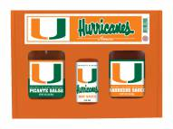Hot Sauce Harry's Miami Hurricanes Tailgate Kit