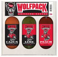Hot Sauce Harry's North Carolina State Wolfpack Grilling Sauce Set