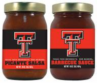 Hot Sauce Harry's Texas Tech Red Raiders BBQ/Salsa Set