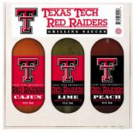 Hot Sauce Harry's Texas Tech Red Raiders Grilling Sauce Set