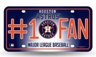 Houston Astros #1 Fan License Plate
