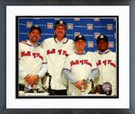 Houston Astros 2015 Baseball Hall of Fame inductees Framed Photo