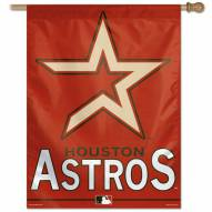 "Houston Astros 27"" x 37"" Banner"
