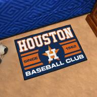 Houston Astros Baseball Club Starter Rug