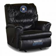 Houston Astros Big Daddy Leather Recliner
