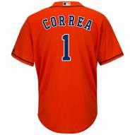 Houston Astros Carlos Correa Replica Orange Alternate Baseball Jersey
