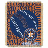 Houston Astros Double Play Jacquard Throw Blanket