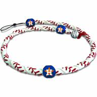 Houston Astros Frozen Rope Baseball Necklace
