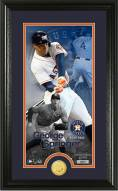 Houston Astros George Springer Supreme Bronze Coin Photo Mint
