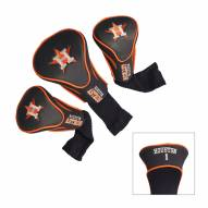 Houston Astros Golf Headcovers - 3 Pack