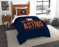 Houston Astros Grand Slam Twin Comforter Set