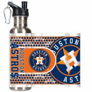 Houston Astros Hi-Def Stainless Steel Water Bottle