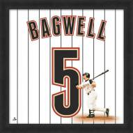 Houston Astros Jeff Bagwell Uniframe Framed Jersey Photo