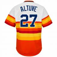 Houston Astros Jose Altuve Cooperstown Rainbow Replica Baseball Jersey
