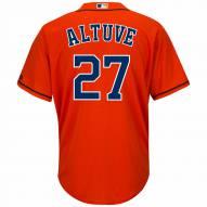 Houston Astros Jose Altuve Replica Orange Alternate Baseball Jersey