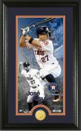 Houston Astros Jose Altuve Supreme Bronze Coin Photo Mint